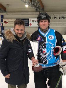 Eishockey Blue Lions Schütze