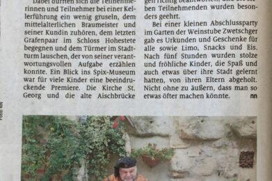 Ferienprogramm Höchstadt a.d. Aisch